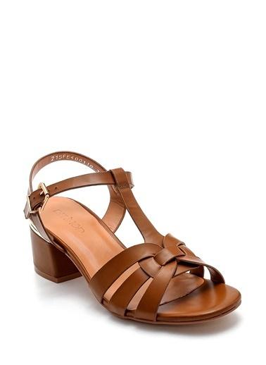 Derimod Kadın Sandalet (Zs3069-Z25) Casual Taba